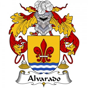 Alvarado Coat of Arms