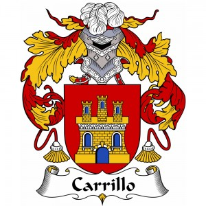 Carrillo Coat of Arms, Carrillo Family Crest, Carrillo escudo de armas, Carrillo cresta de la familia, Carrillo apellido, Carrillo Family reunion, spanish genealogy