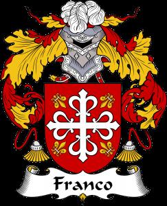 Franco Coat of Arms, Franco Family Crest, Franco escudo de armas, Franco cresta de la familia, Franco apellido, Franco Family reunion, spanish genealogy