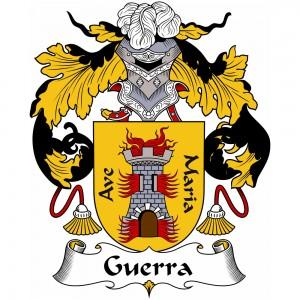 Guerra Coat of Arms, Guerra Family Crest, Guerra escudo de armas, Guerra cresta de la familia, Guerra apellido, Guerra Family reunion, spanish genealogy