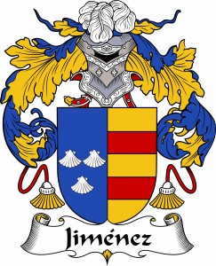 Jiménez Coat of Arms