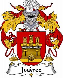 Juarez Coat of Arms, Juarez Family Crest, Juarez escudo de armas, Juarez cresta de la familia, Juarez apellido, Juarez Family reunion, spanish genealogy
