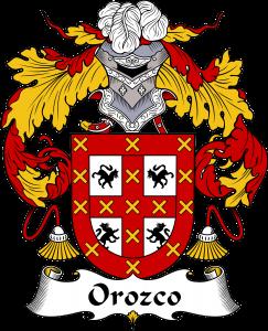 Orozco Coat of Arms, Orozco Family Crest, Orozco escudo de armas, Orozco cresta de la familia, Orozco apellido, Orozco Family reunion, spanish genealogy