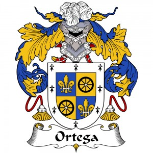 Ortega Coat of Arms