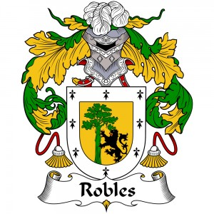 Robles Coat of Arms