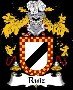 Ruiz Coat of Arms, Ruiz Family Crest, Ruiz escudo de armas, Ruiz cresta de la familia