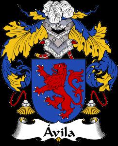 Avila Coat of Arms, Avila Family Crest, Avila escudo de armas, Avila cresta de la familia, Avila apellido, Avila Family reunion, spanish genealogy