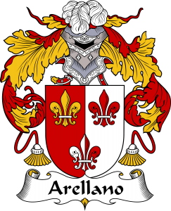 Arellano Coat of Arms, Arellano Family Crest, Arellano escudo de armas, Arellano cresta de la familia, Arellano apellido, Arellano Family reunion, spanish genealogy