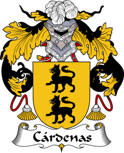 Cardenas Coat of Arms, Cardenas Family Crest, Cardenas escudo de armas, Cardenas cresta de la familia, Cardenas apellido, Cardenas Family reunion, spanish genealogy