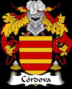 Cordova Coat of Arms, Cordova Family Crest, Cordova escudo de armas, Cordova cresta de la familia, Cordova apellido, Cordova Family reunion, spanish genealogy