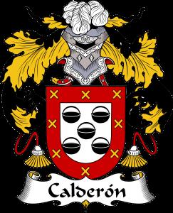 Calderon Coat of Arms, Calderon Family Crest, Calderon escudo de armas, Calderon cresta de la familia, Calderon apellido, Calderon Family reunion, spanish genealogy
