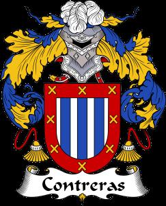 Contreras Coat of Arms, Contreras Family Crest, Contreras escudo de armas, Contreras cresta de la familia
