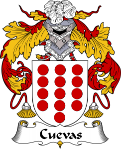 Cuevas Coat of Arms / Cuevas Family Crest