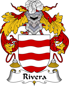 Rivera Coat of Arms, Rivera Family Crest, Rivera escudo de armas, Rivera cresta de la familia