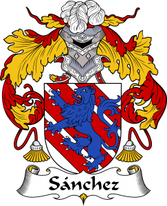 Sanchez Coat of Arms