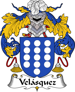 Velasquez Coat of Arms