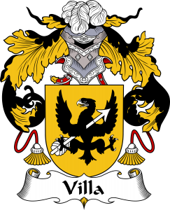 Villa Family Crest