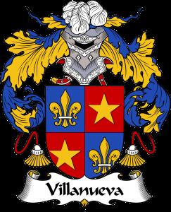 Villanueva Coat of Arms, Villanueva Family Crest, Villanueva escode de armas