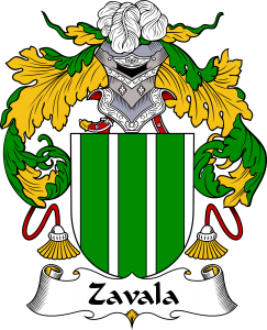 Zavala Coat of Arms
