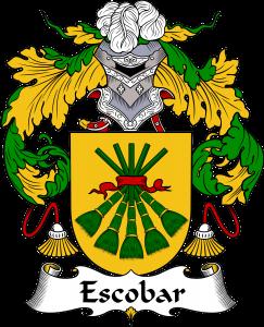 Escobar Coat of Arms, Escobar Family Crest, Escobar escudo de armas, Escobar cresta de la familia, Escobar apellido, Escobar Family reunion, spanish genealogy
