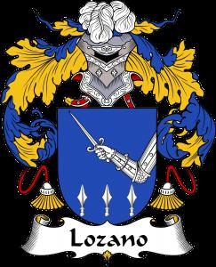 Lozano Coat of Arms, Lozano Family Crest, Lozano escudo de armas, Lozano cresta de la familia, Lozano apellido, Lozano Family reunion, spanish genealogy