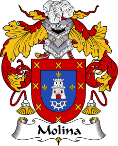 Molina Coat of Arms, Molina Family Crest, Molina escode de armas