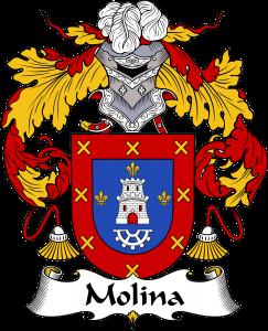 Molina Coat of Arms, Molina Family Crest, Molina escode de armas