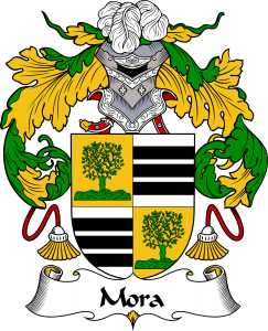Mora Coat of Arms, Mora Family Crest, Mora escudo de armas, Mora cresta de la familia, Mora apellido, Mora Family reunion, spanish genealogy