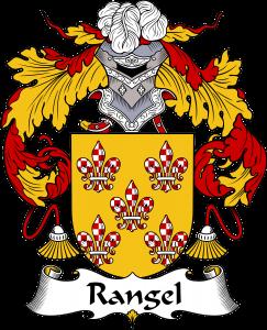 Rangel Coat of Arms, Rangel Family Crest, Rangel escudo de armas, Rangel cresta de la familia, Rangel apellido, Rangel Family reunion, spanish genealogy