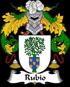 Rubio Coat of Arms, Rubio Family Crest, Rubio escode de armas