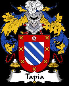Tapia Coat of Arms, Tapia Family Crest, Tapia escudo de armas, Tapia cresta de la familia, Tapia apellido, Tapia Family reunion, spanish genealogy